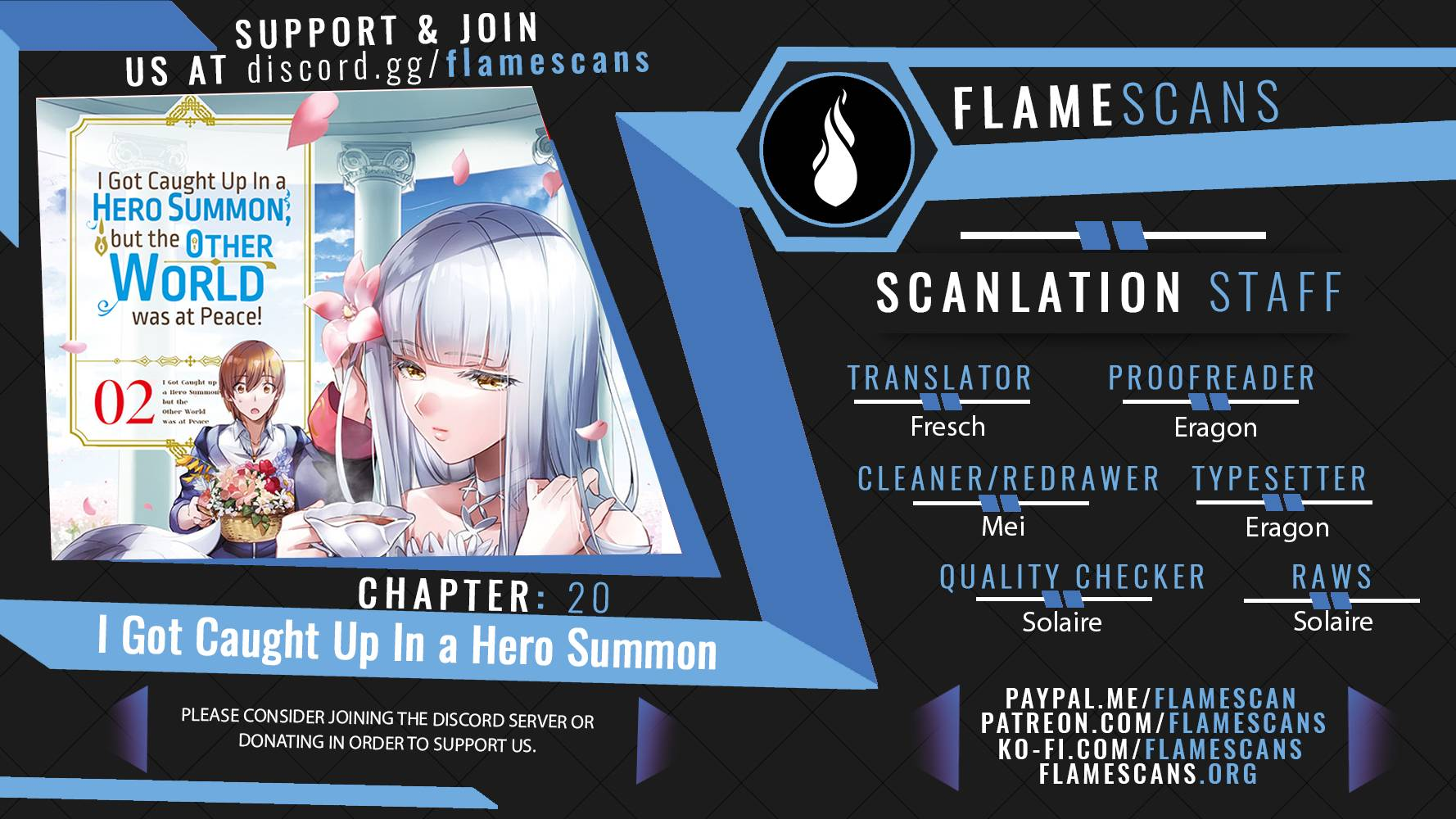 I Was Caught up in a Hero Summoning, but That World Is at Peace - chapter 20 - #1