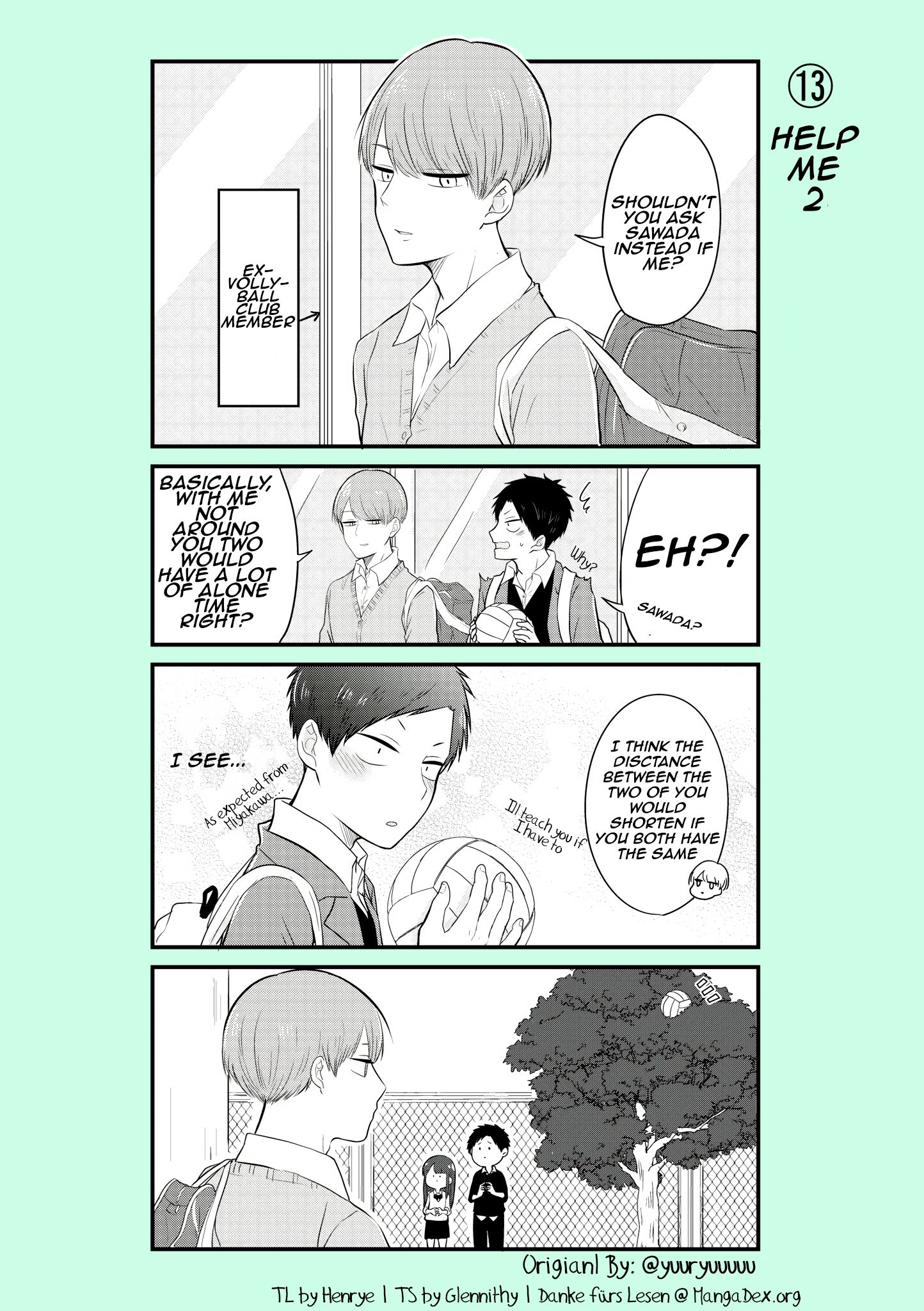 Ichimura-kun Wants to be Relied On - chapter 13 - #1