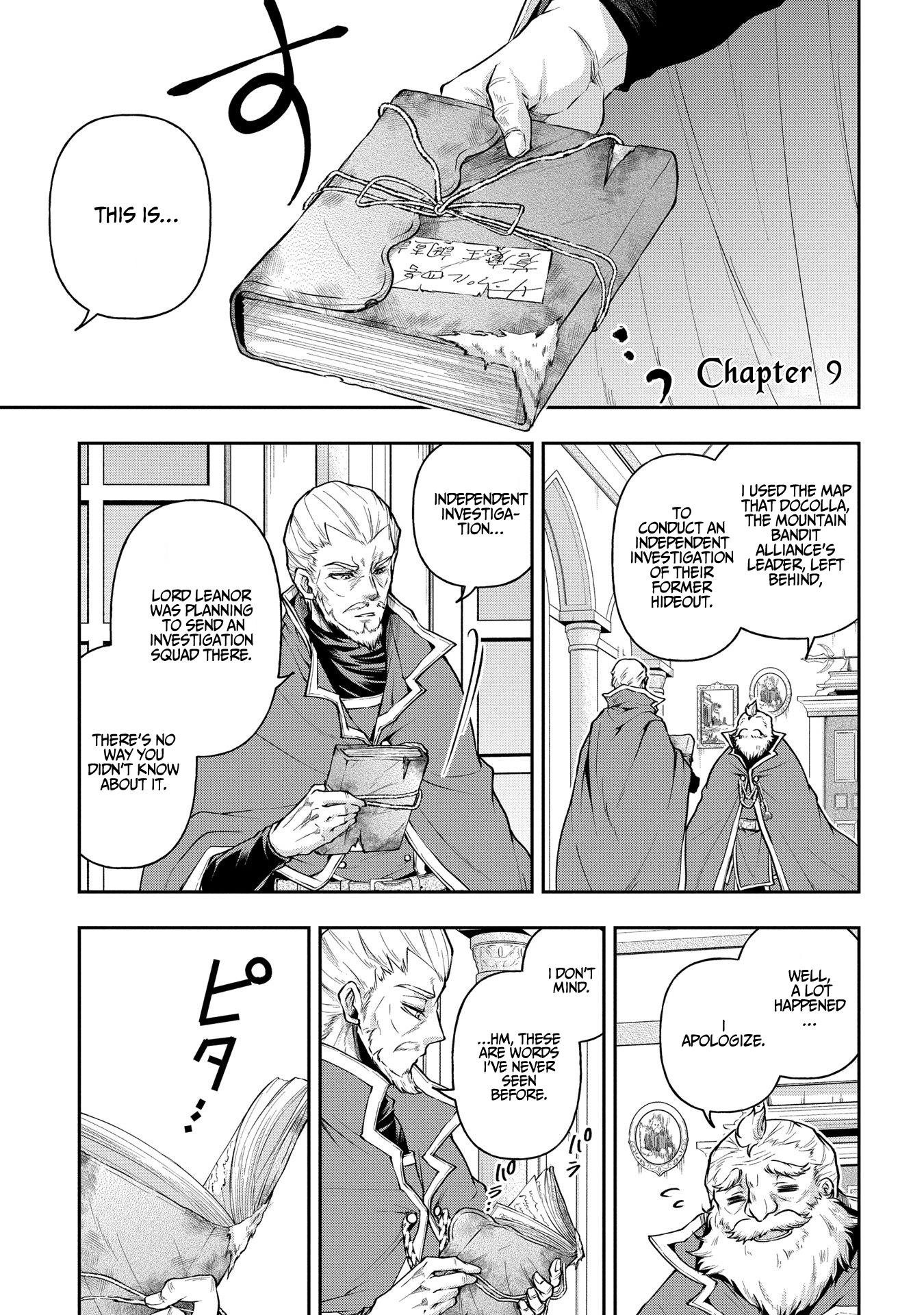 It's Sudden, but I came to Another World! But i hope to live Safely - chapter 9 - #2