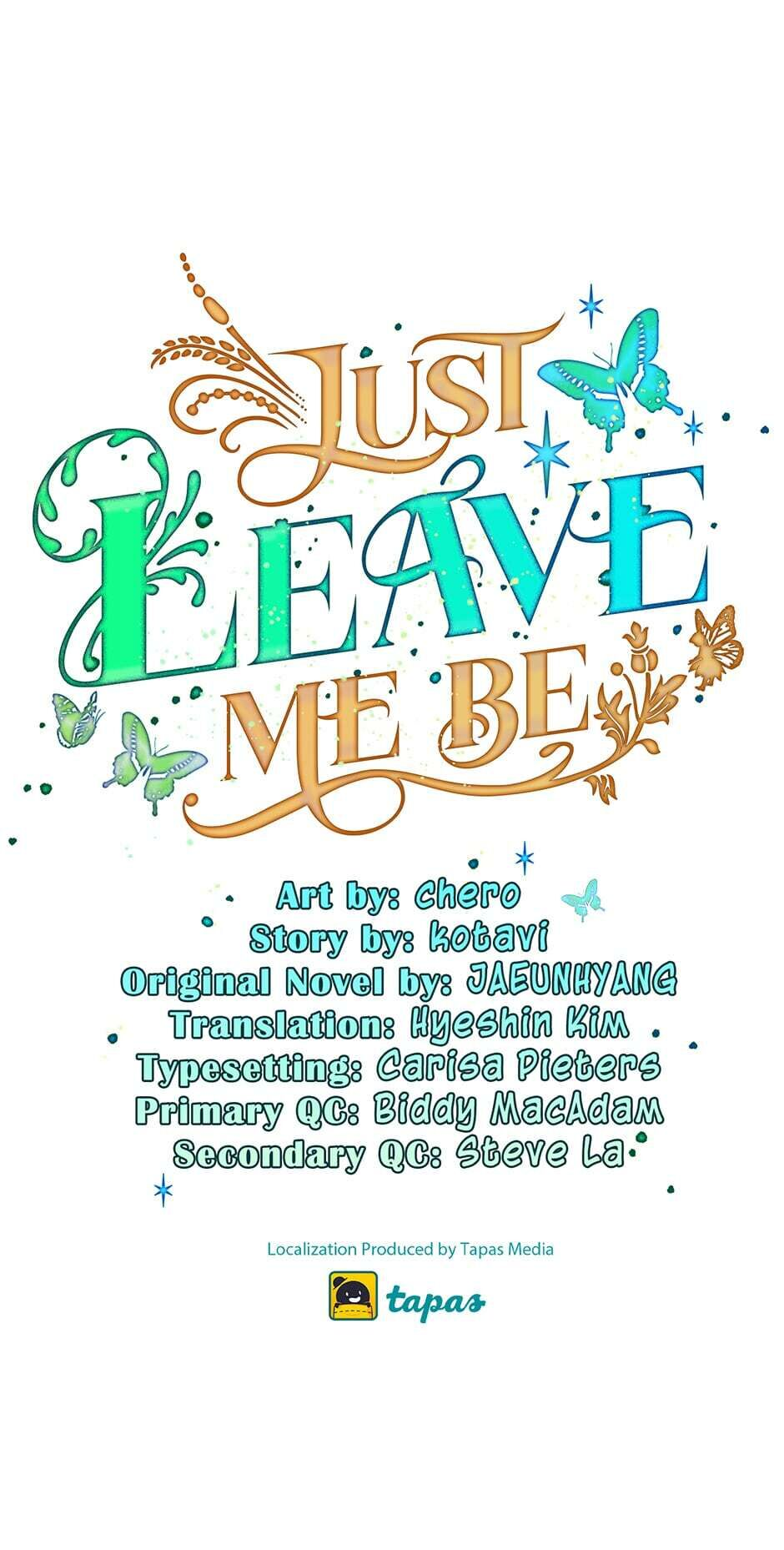 Just Leave Me Be - chapter 16 - #1