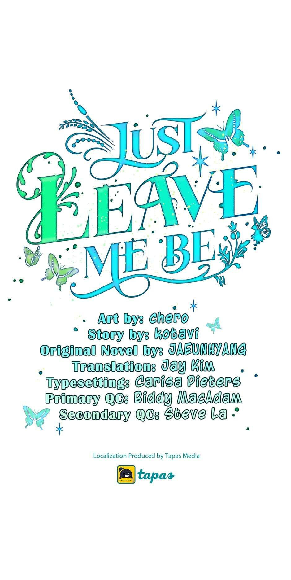 Just Leave Me Be - chapter 22 - #1