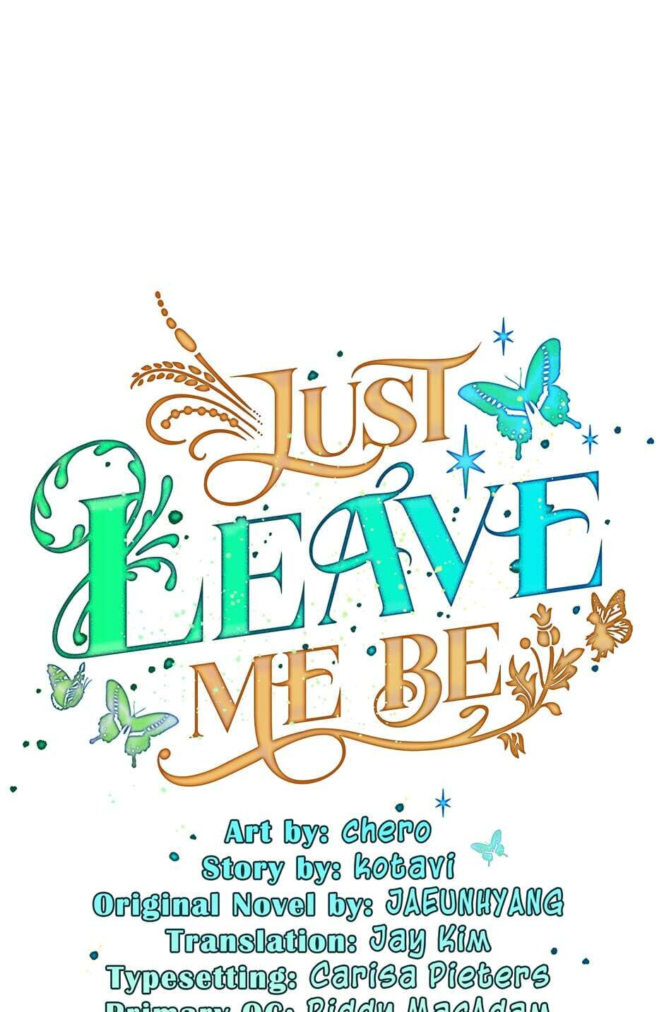 Just Leave Me Be - chapter 30 - #1