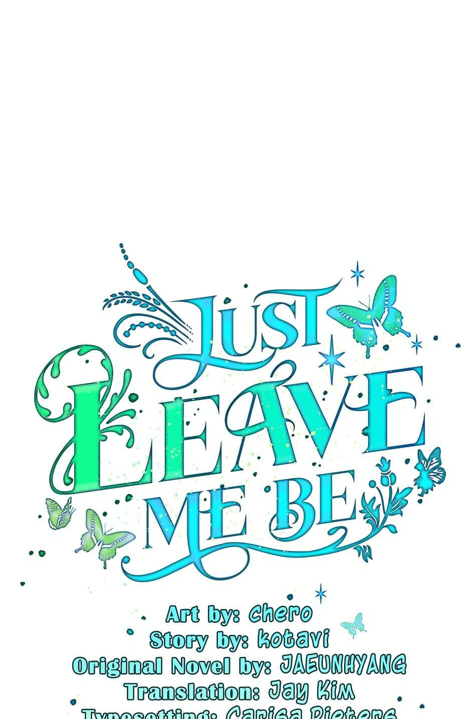 Just Leave Me Be - chapter 31 - #1