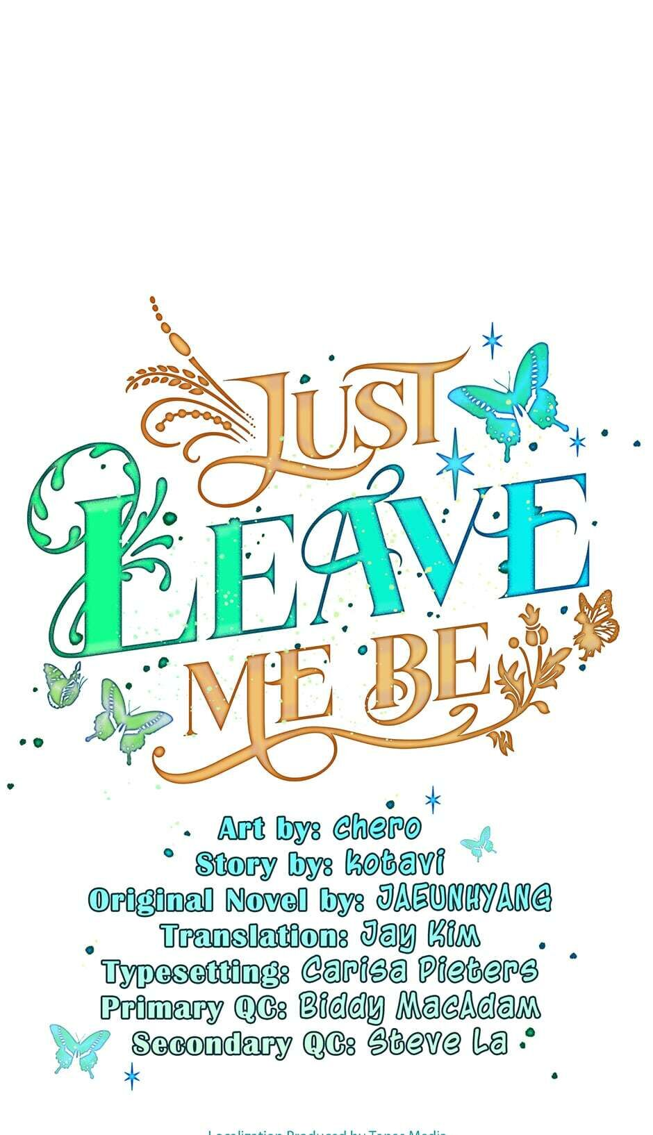 Just Leave Me Be - chapter 37 - #1