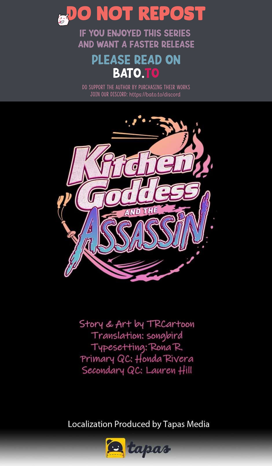 Kitchen Goddess and the Assassin - chapter 27 - #1