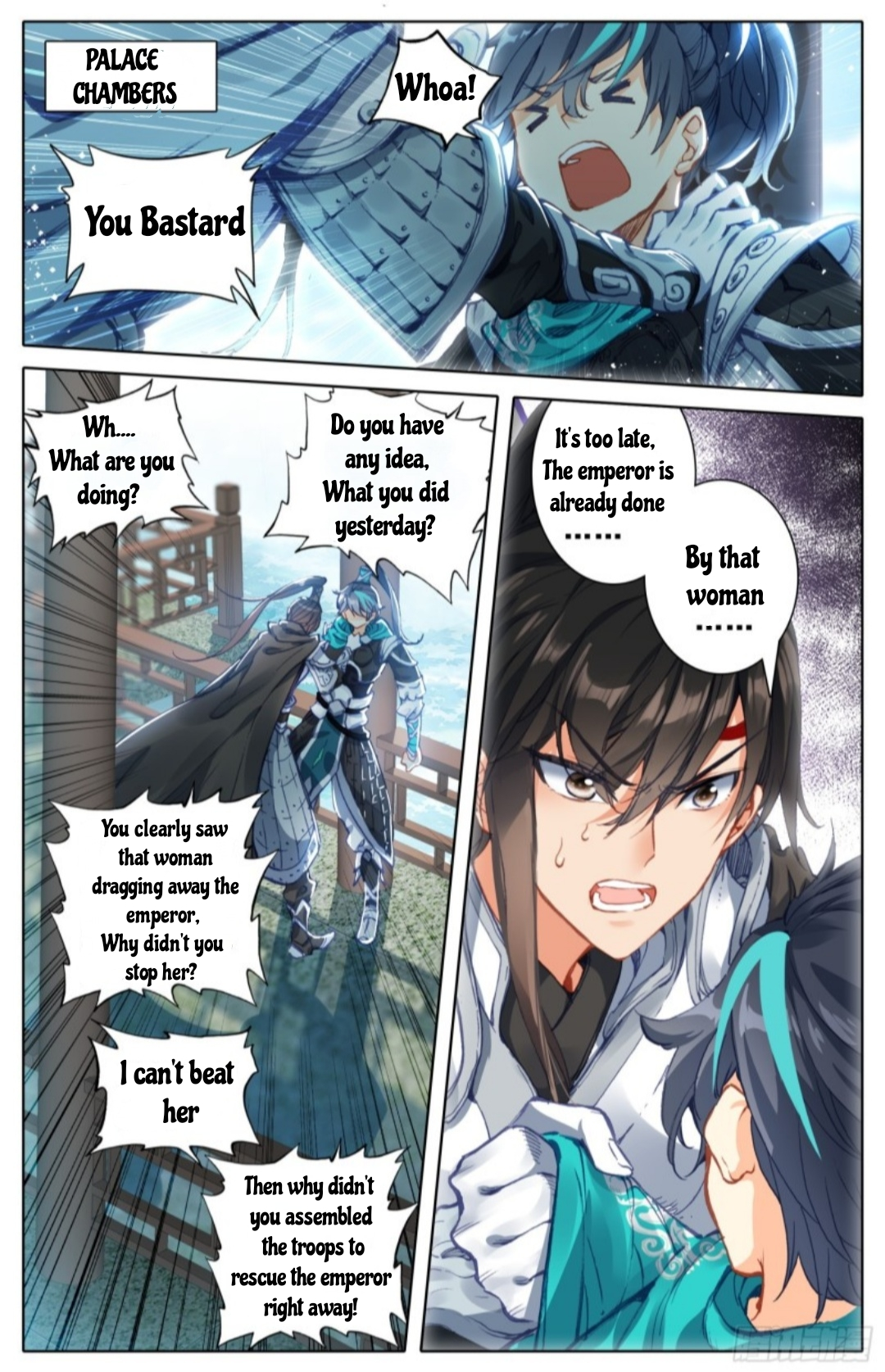 Legend of The Tyrant Empress - chapter 15.2 - #1