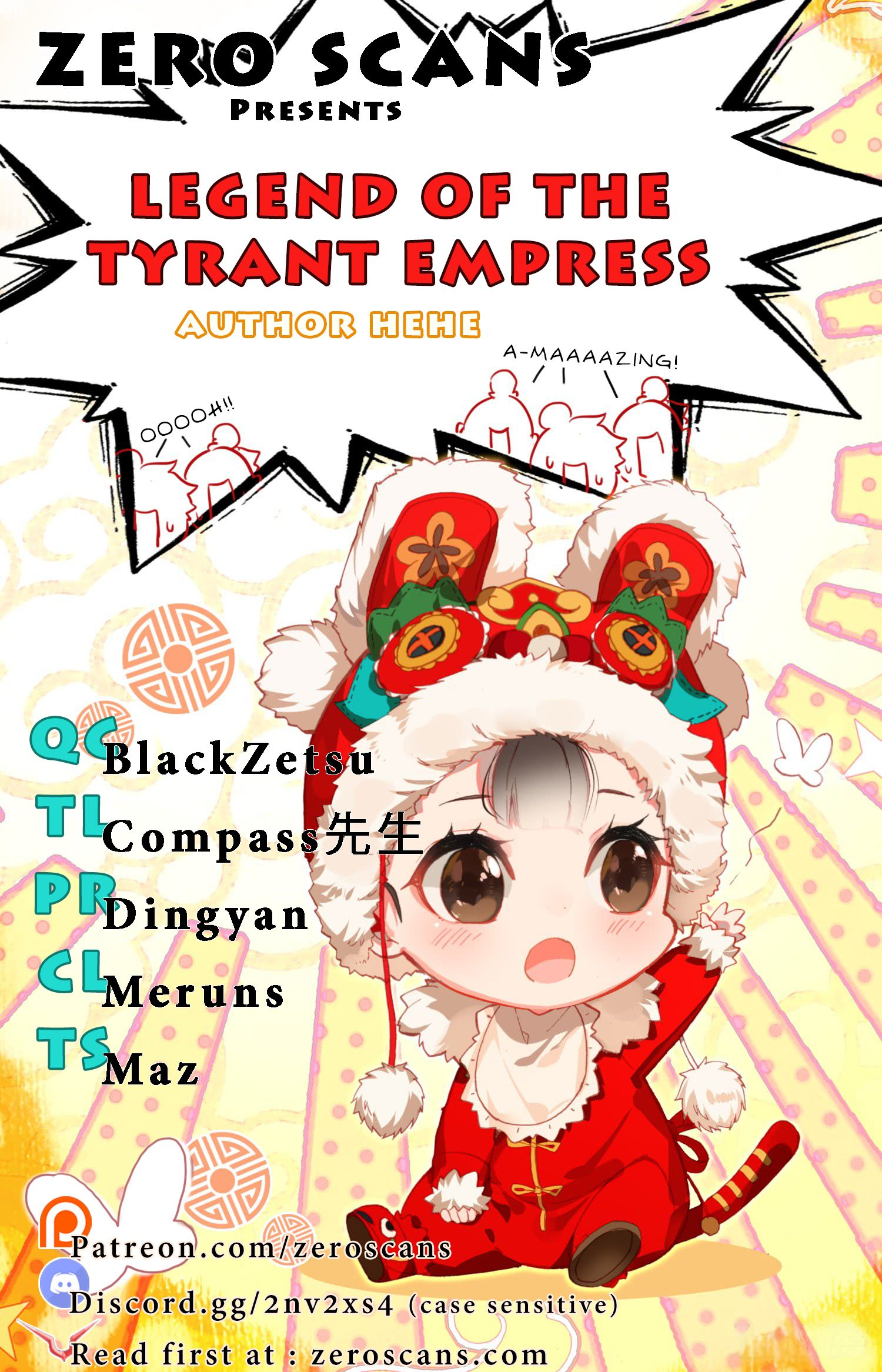 Legend of The Tyrant Empress - chapter 23 - #1