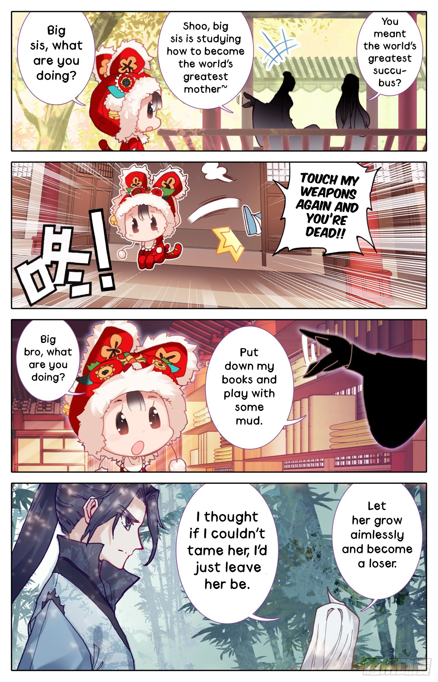 Legend of The Tyrant Empress - chapter 24 - #3