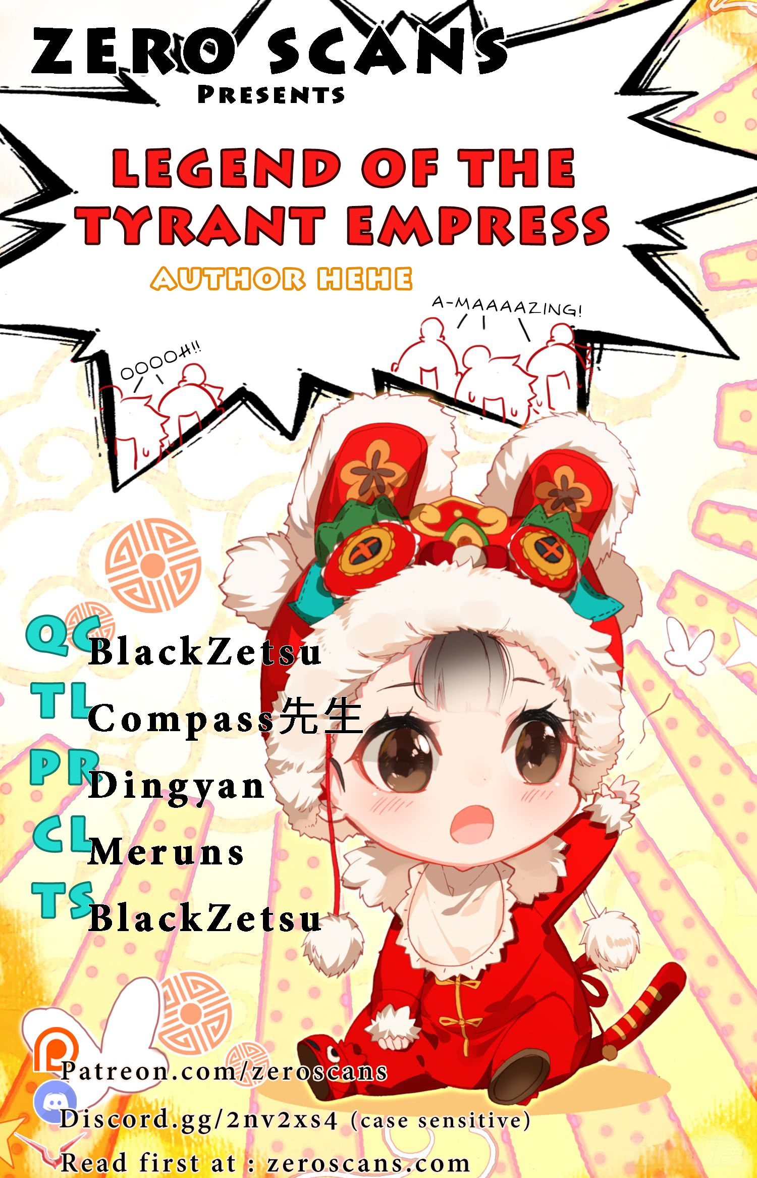 Legend of The Tyrant Empress - chapter 27 - #1