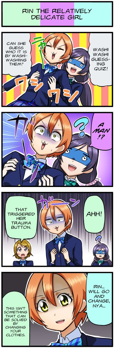 Love Live 4-koma - chapter 25 - #1