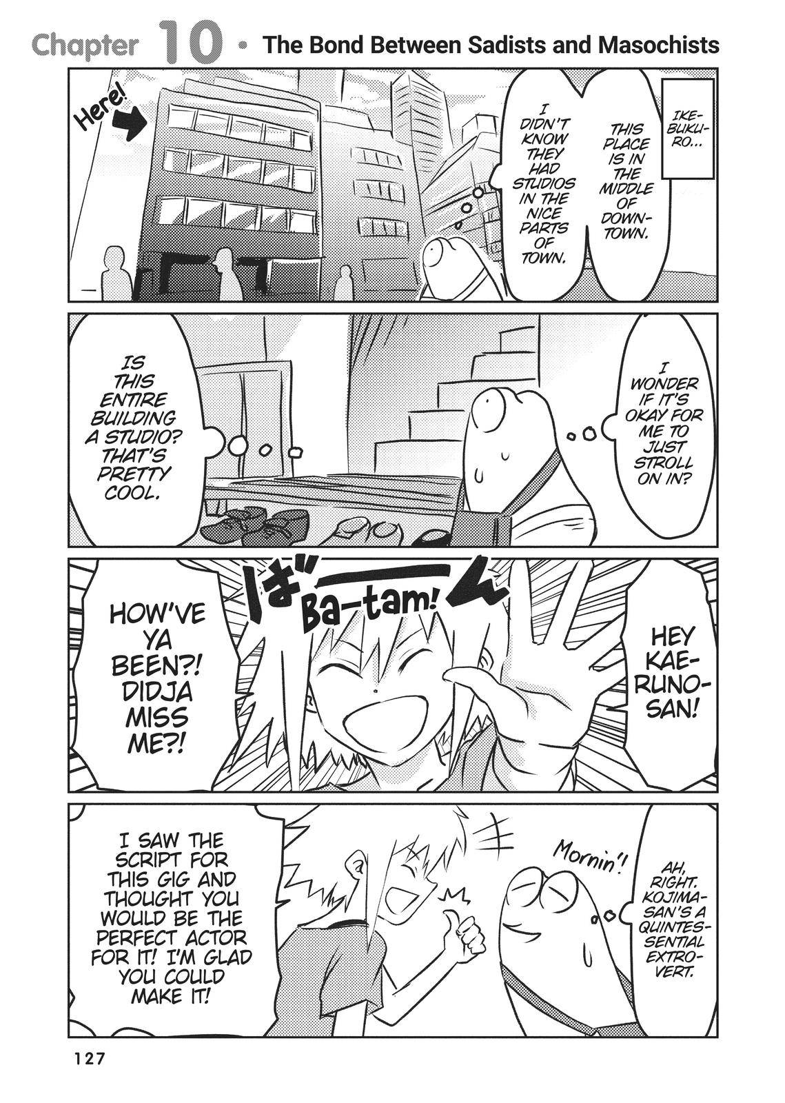 Manga Diary of a Male Porn Star - chapter 10 - #1