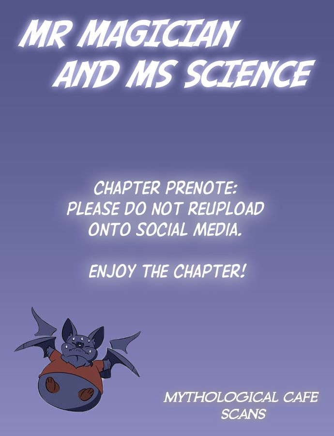 Mr. Magician And Miss Science - chapter 4 - #1