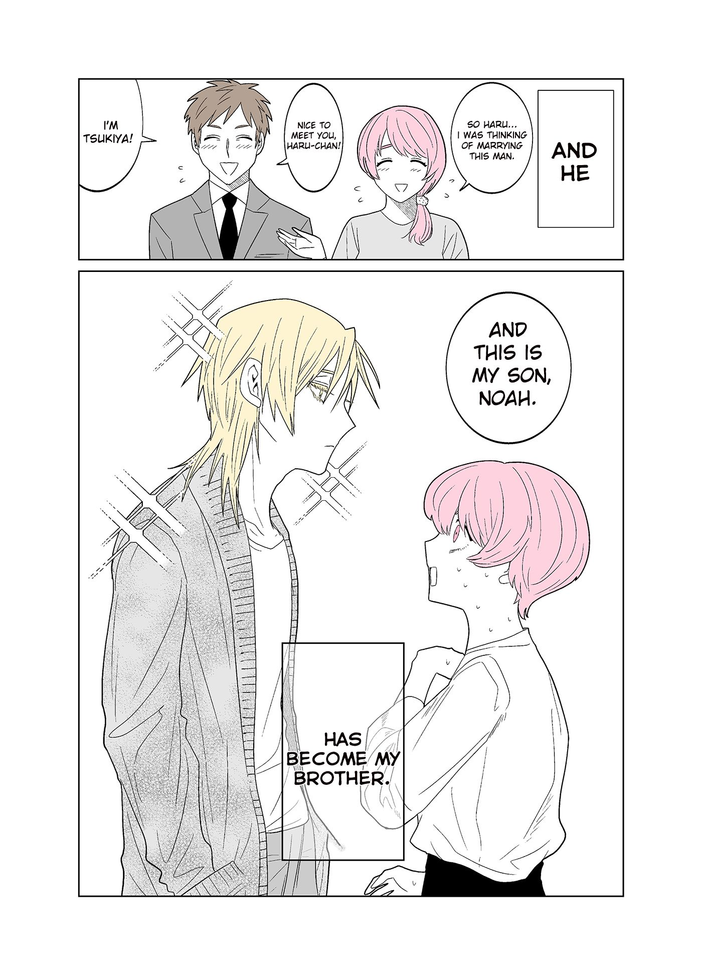 My Favorite Model Has Become My older brother - chapter 1 - #2