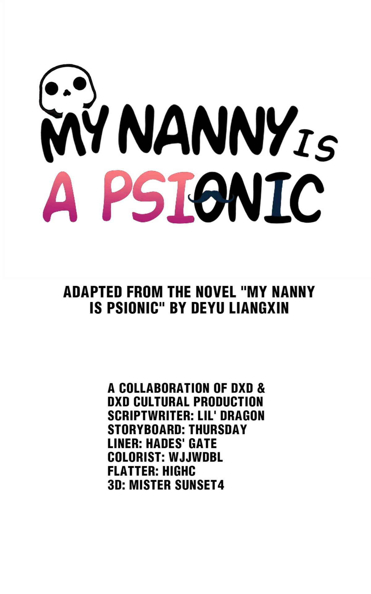 My Nanny Is Psionic - chapter 33 - #1