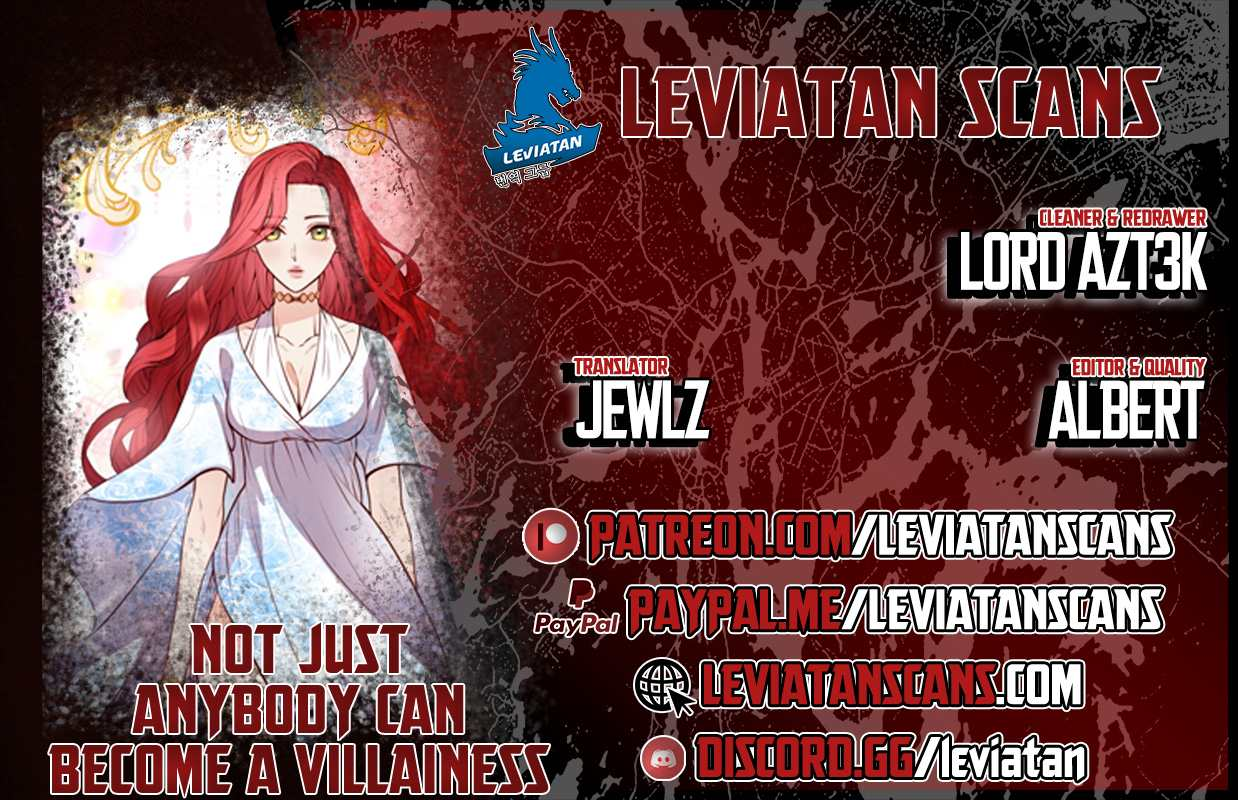 Not Just Anybody Can Become a Villainess - chapter 35 - #1