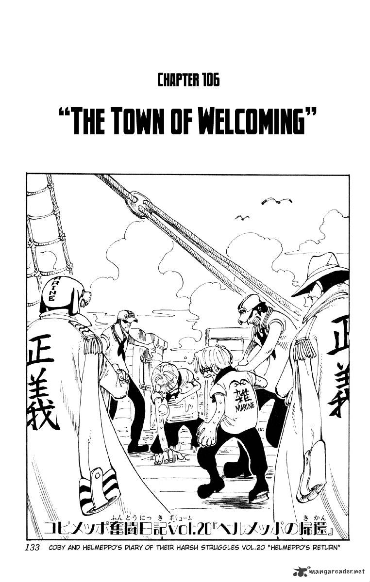 One Piece - chapter 106 - #1
