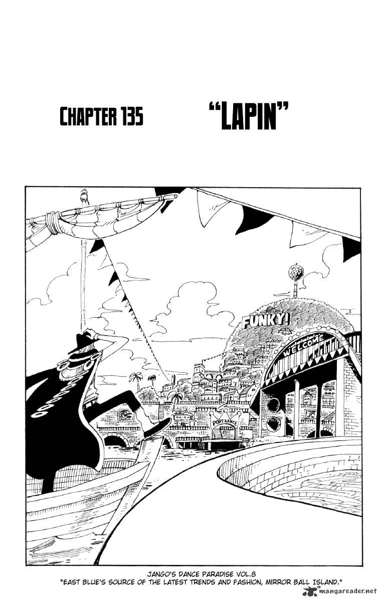 One Piece - chapter 135 - #1