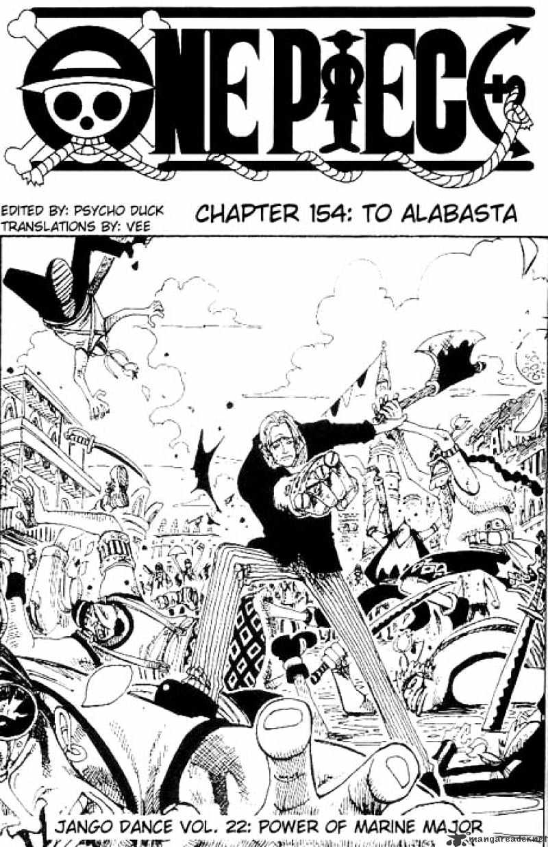 One Piece - chapter 154 - #1