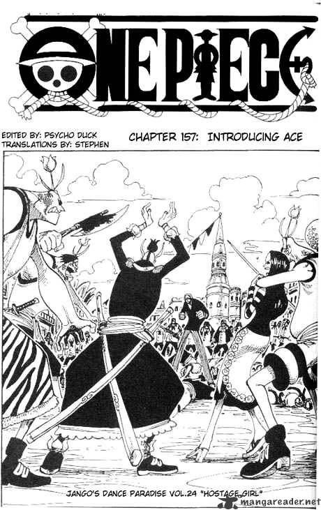 One Piece - chapter 157 - #1
