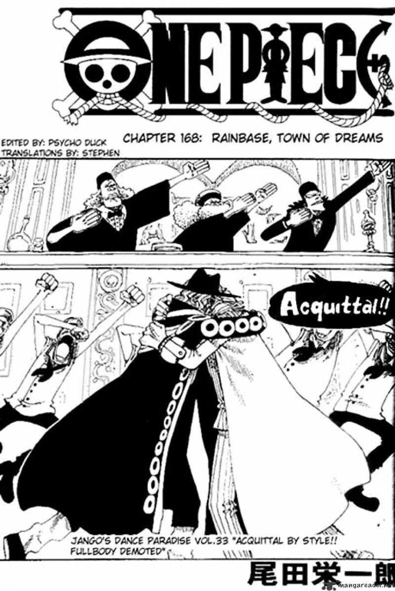 One Piece - chapter 168 - #1