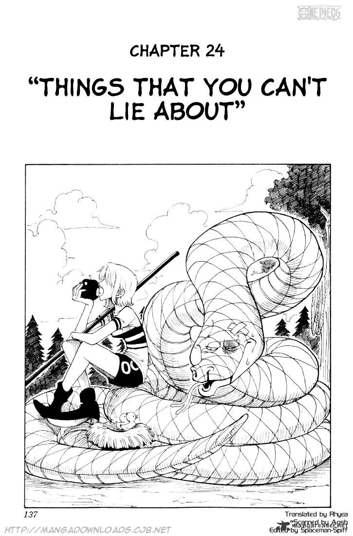 One Piece - chapter 24 - #1