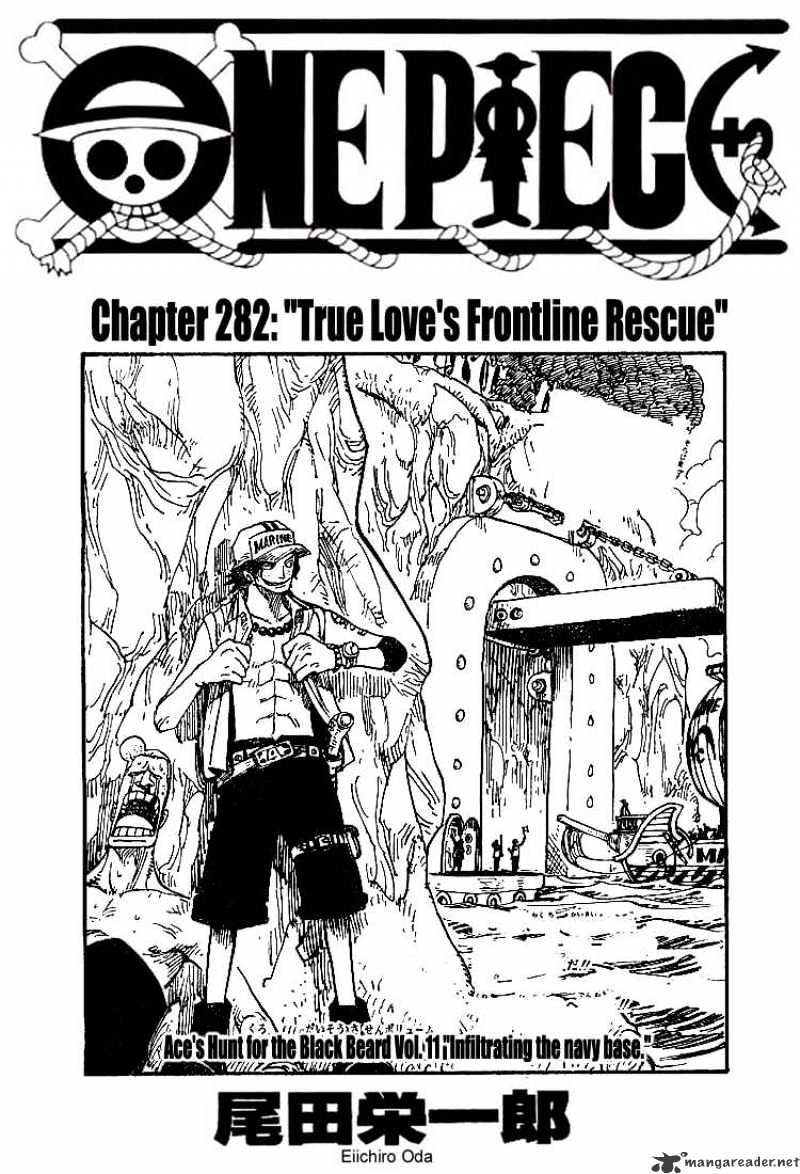 One Piece - chapter 283 - #1