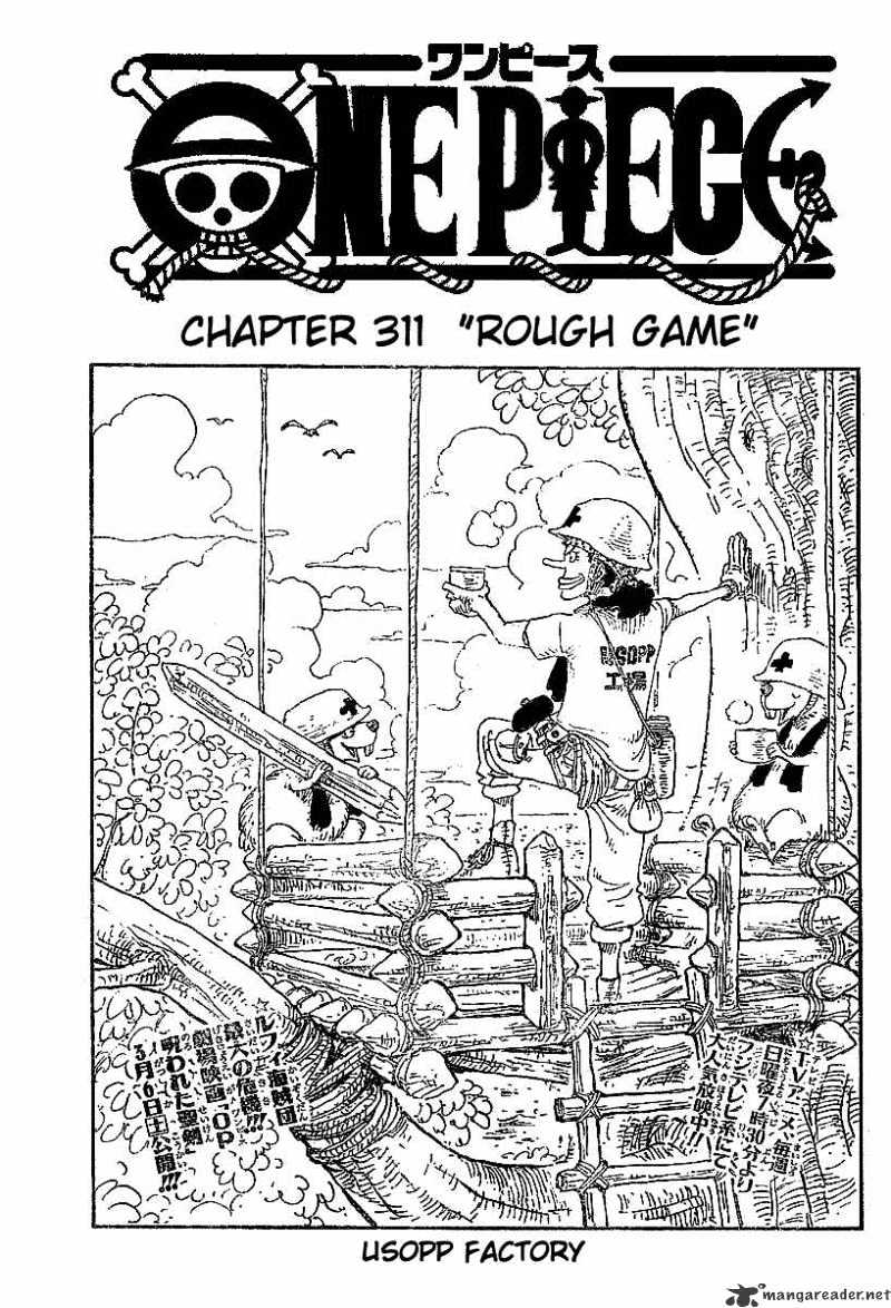 One Piece - chapter 311 - #1