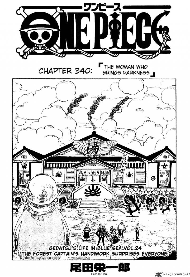 One Piece - chapter 340 - #1