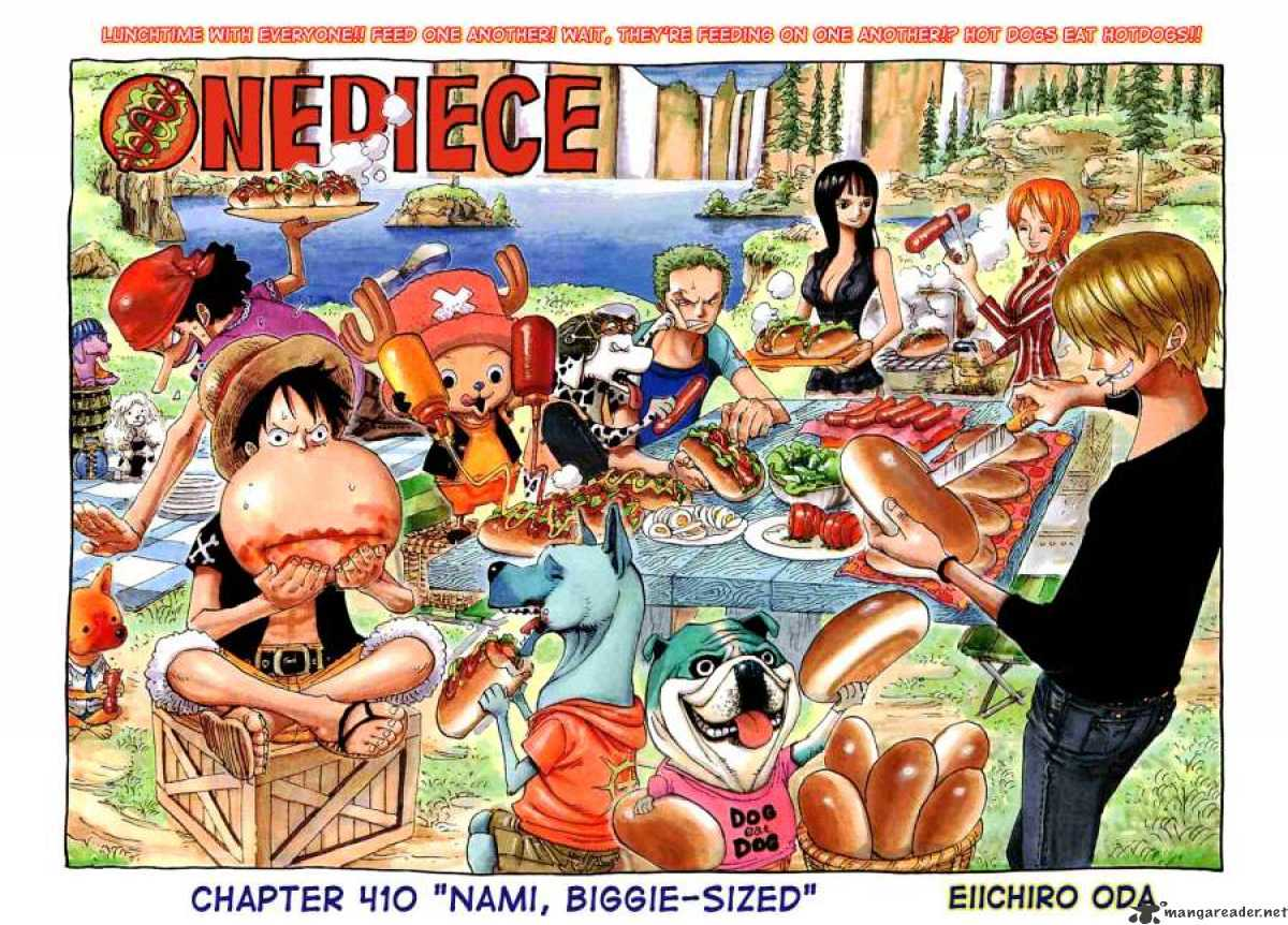 One Piece - chapter 410 - #2