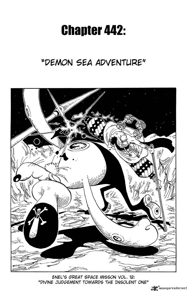 One Piece - chapter 442 - #1