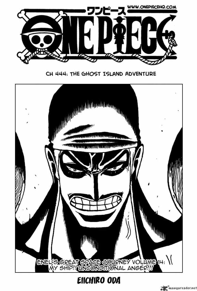 One Piece - chapter 444 - #2