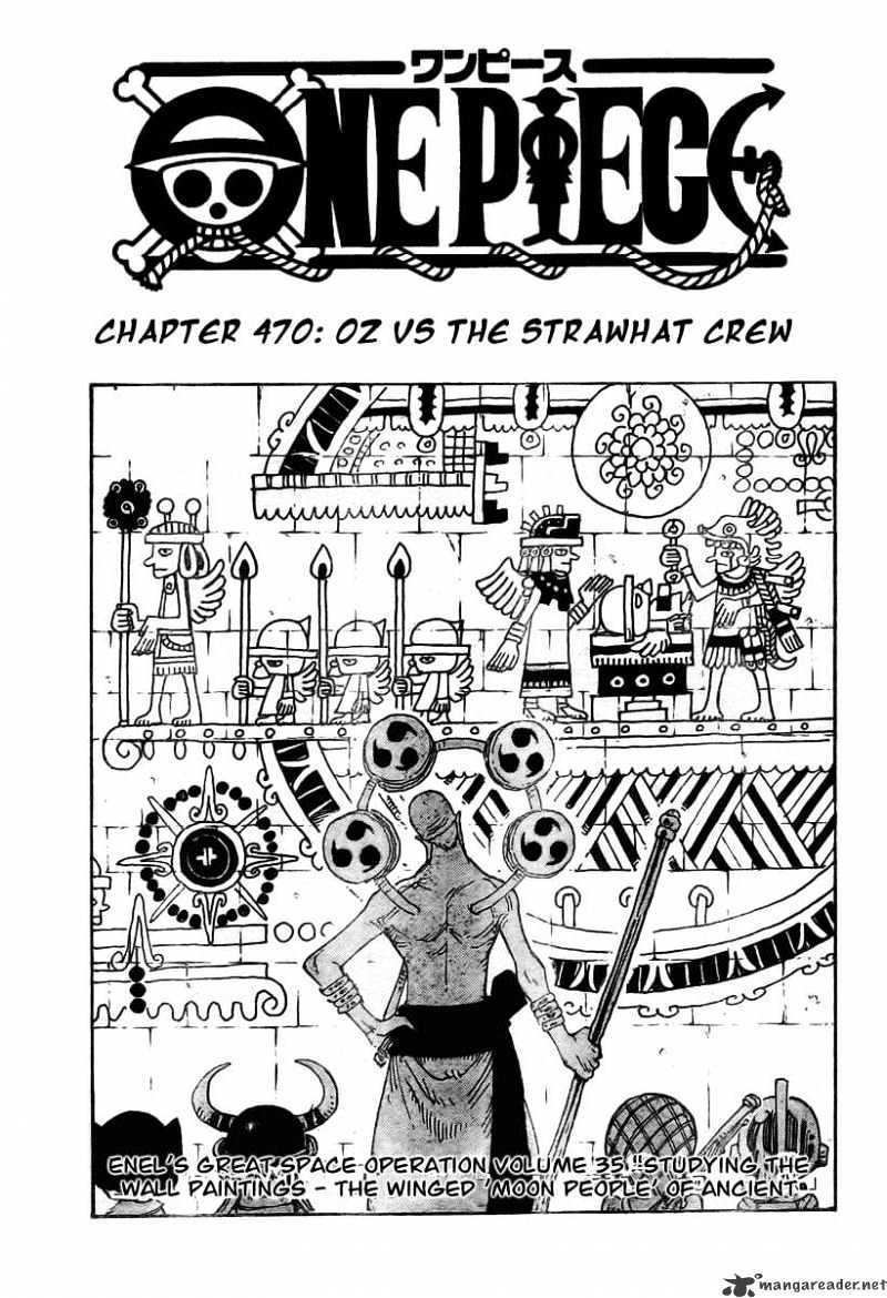 One Piece - chapter 470 - #1