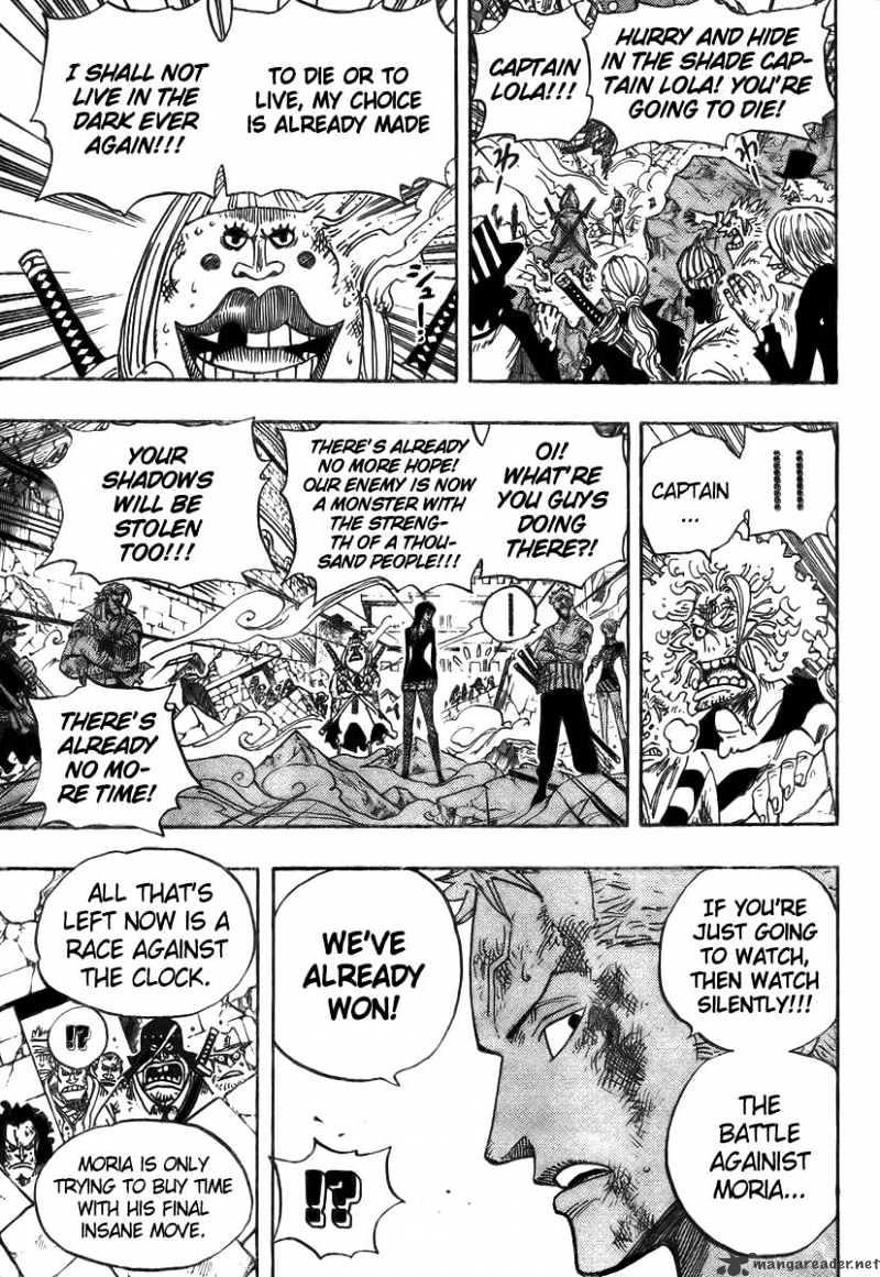 One Piece - chapter 482 - #3