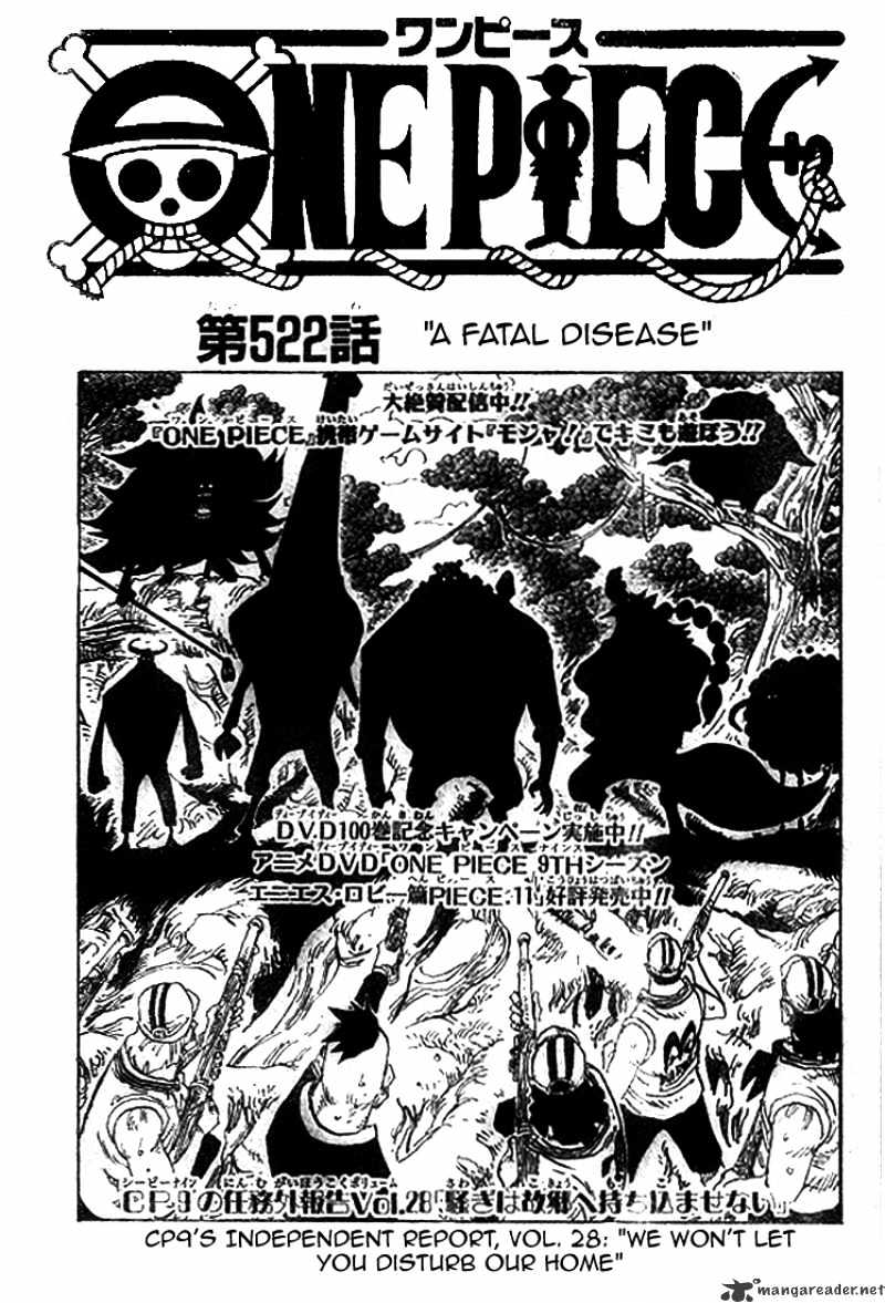 One Piece - chapter 522 - #3