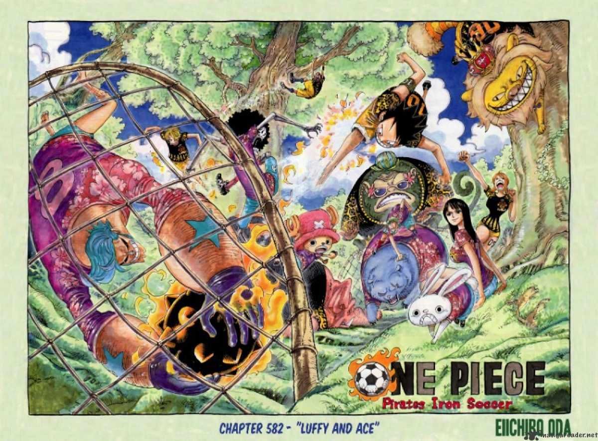 One Piece - chapter 582 - #2