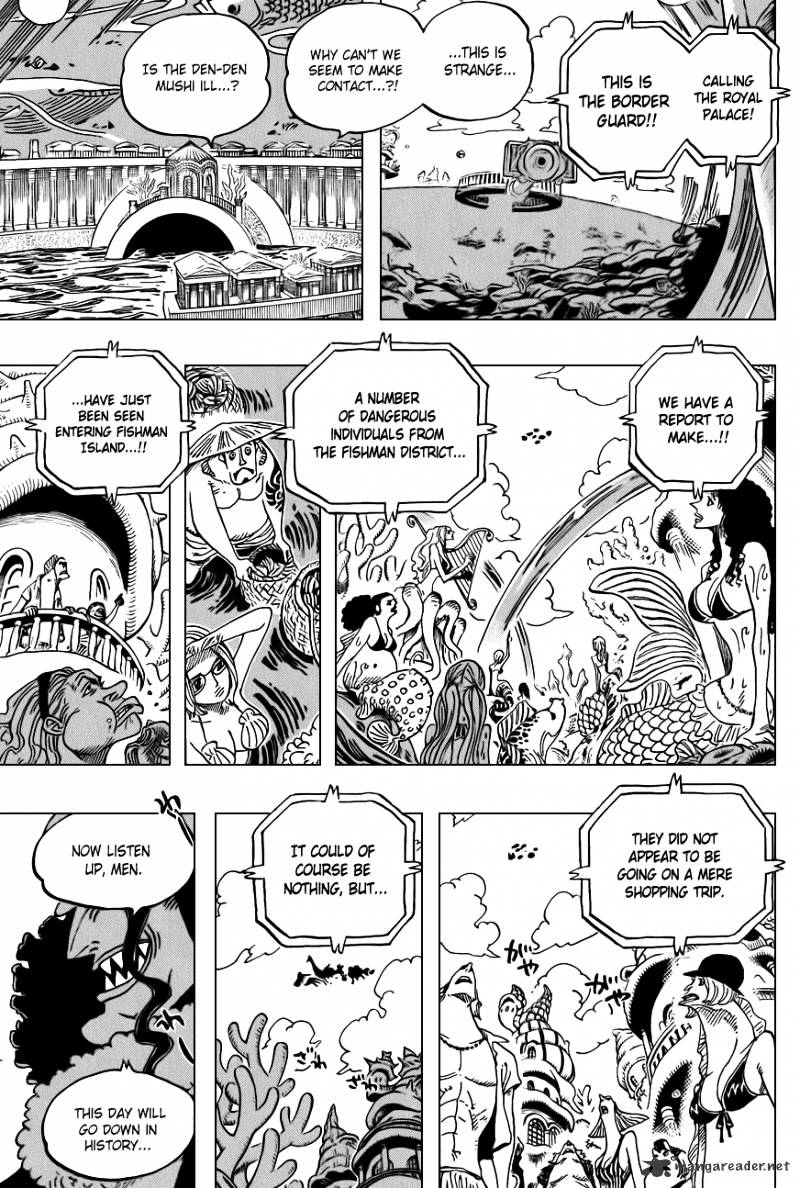 One Piece - chapter 616 - #3