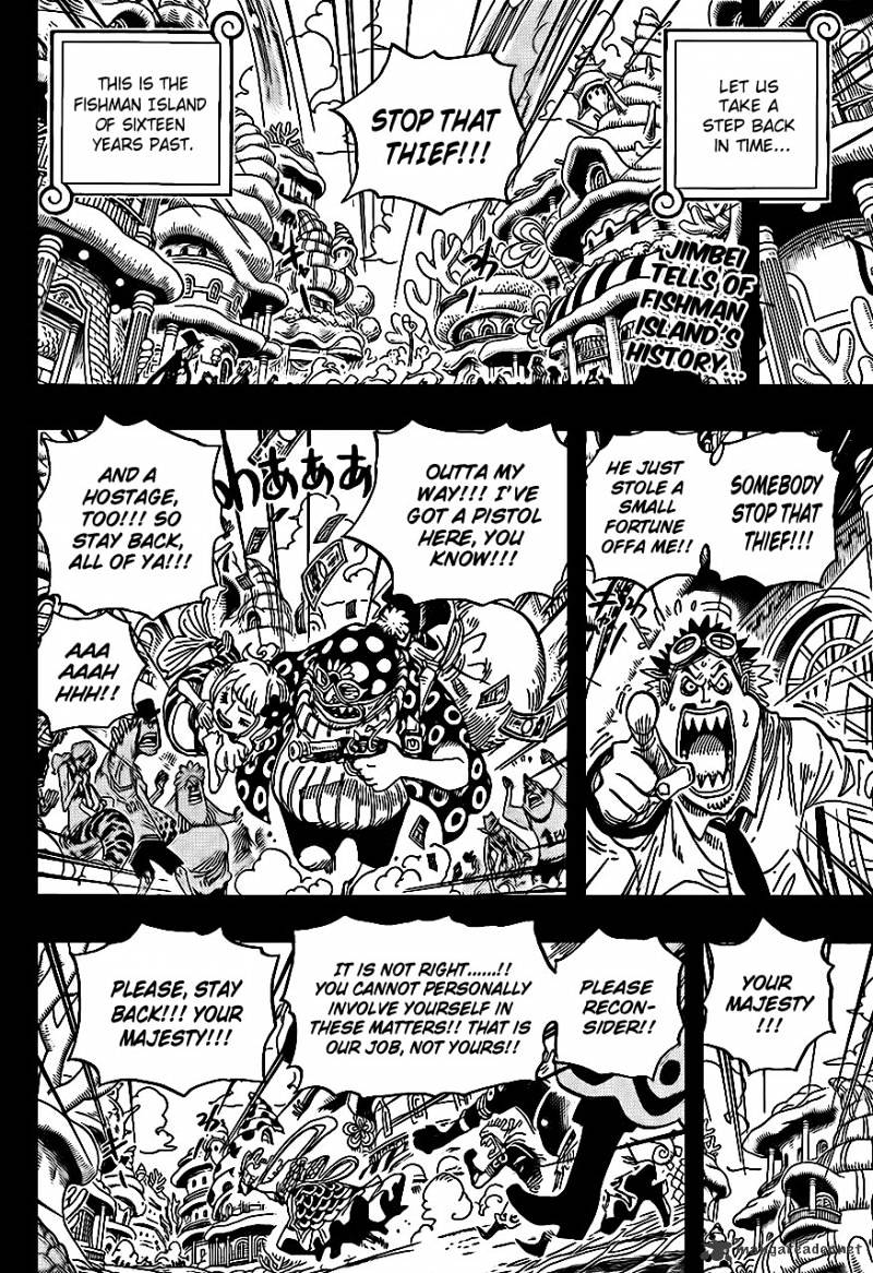 One Piece - chapter 621 - #2