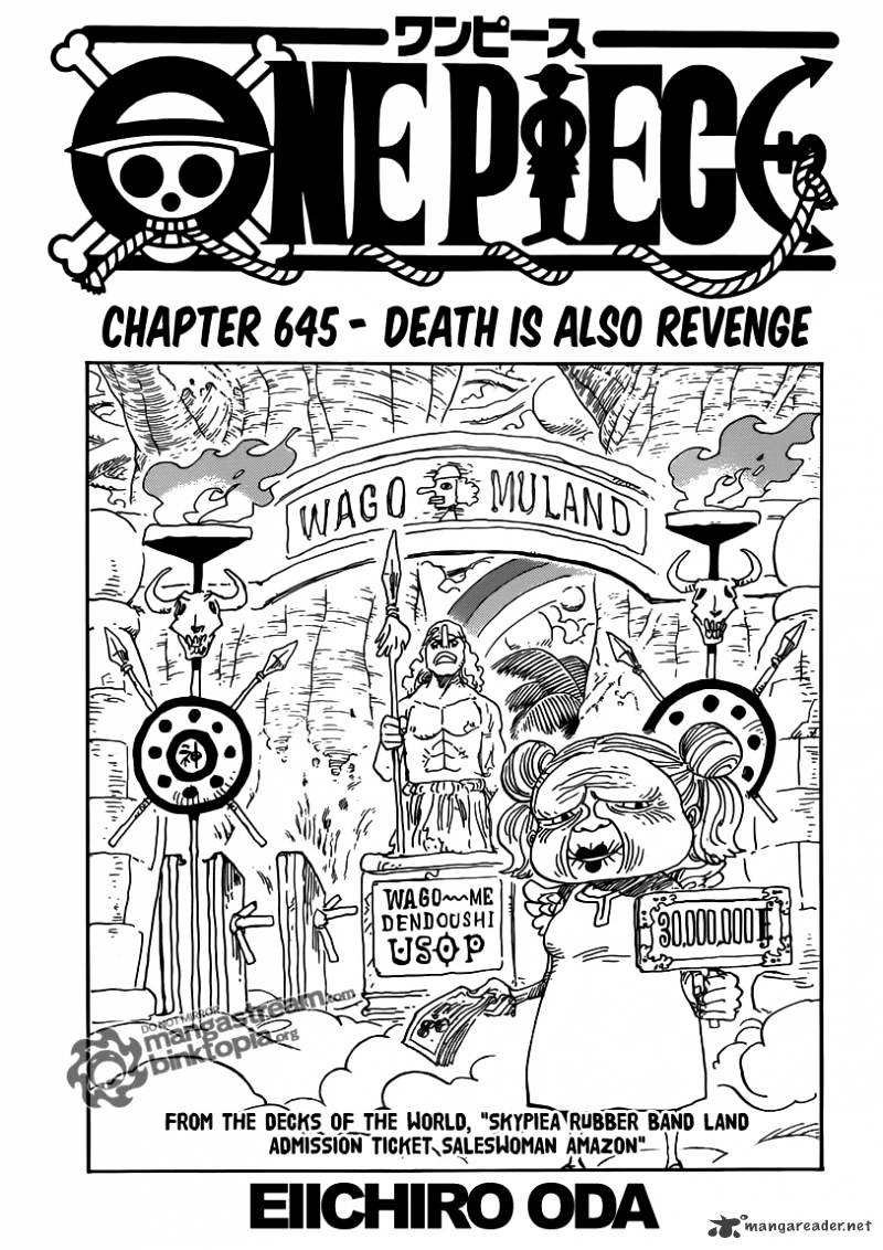 One Piece - chapter 645 - #1