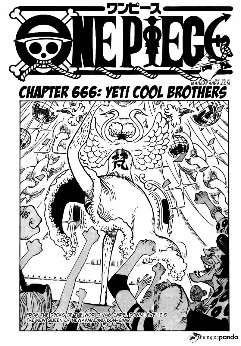 One Piece - chapter 666 - #1