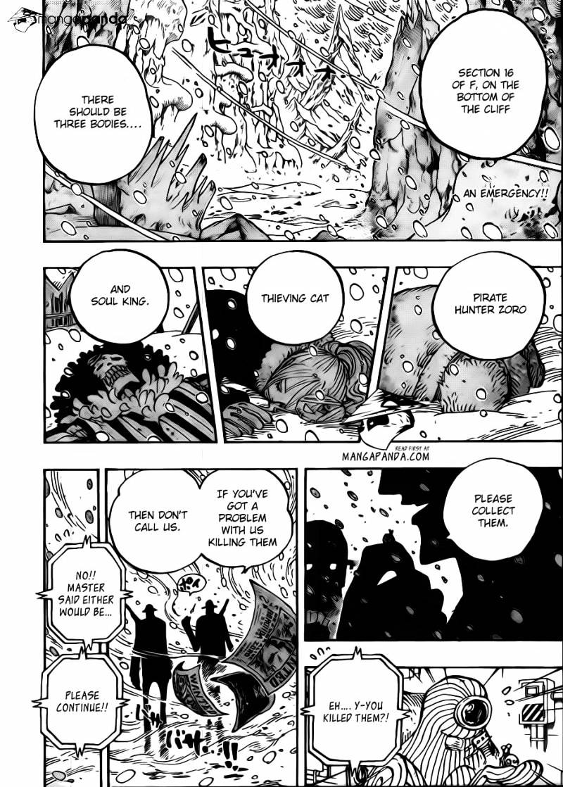 One Piece - chapter 666 - #2