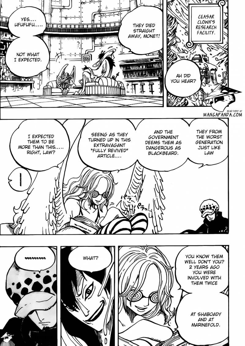 One Piece - chapter 666 - #3