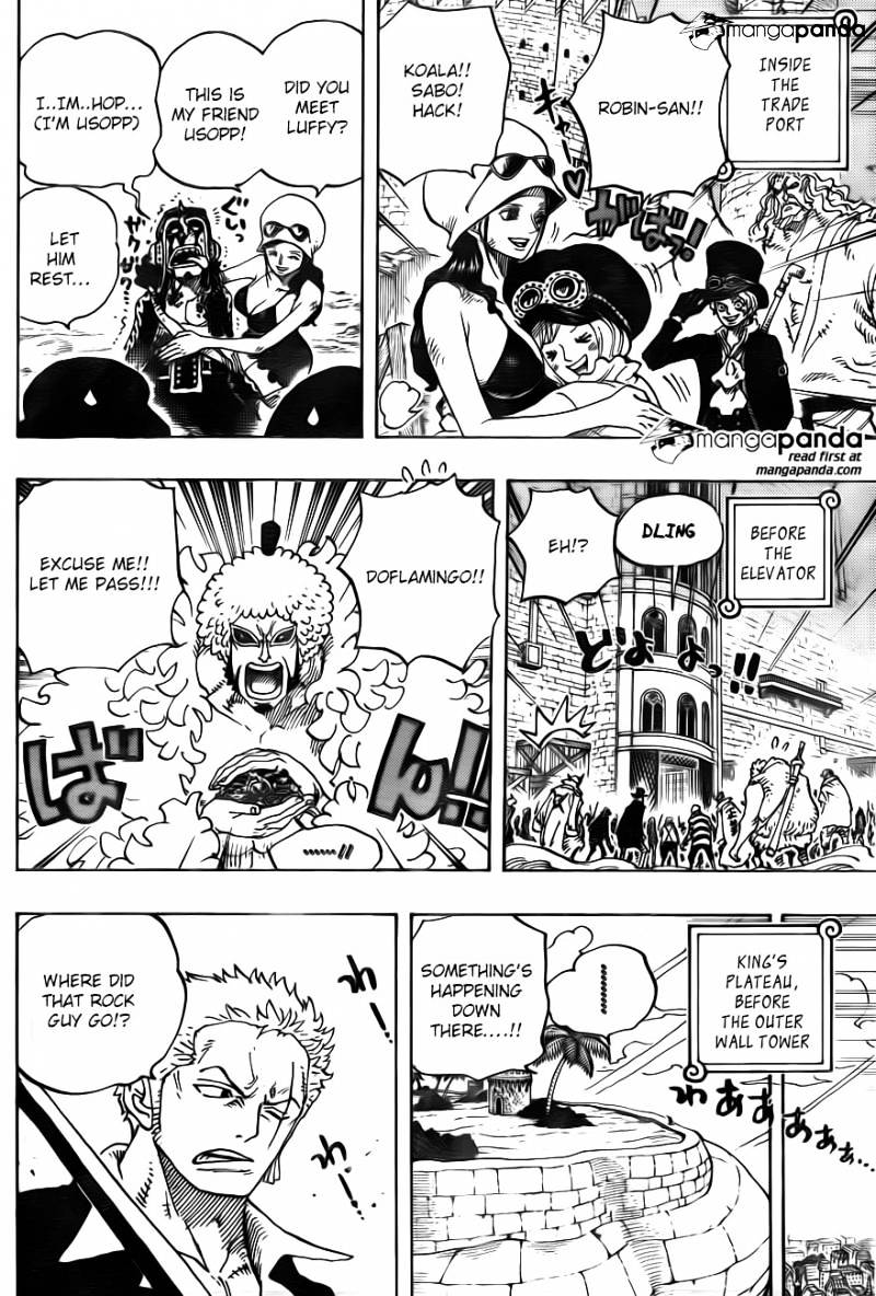One Piece - chapter 745 - #3