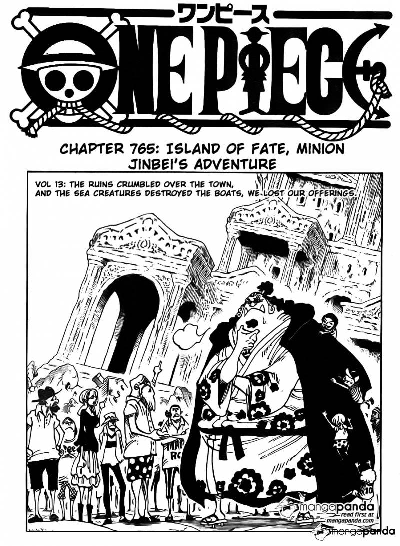One Piece - chapter 765 - #1