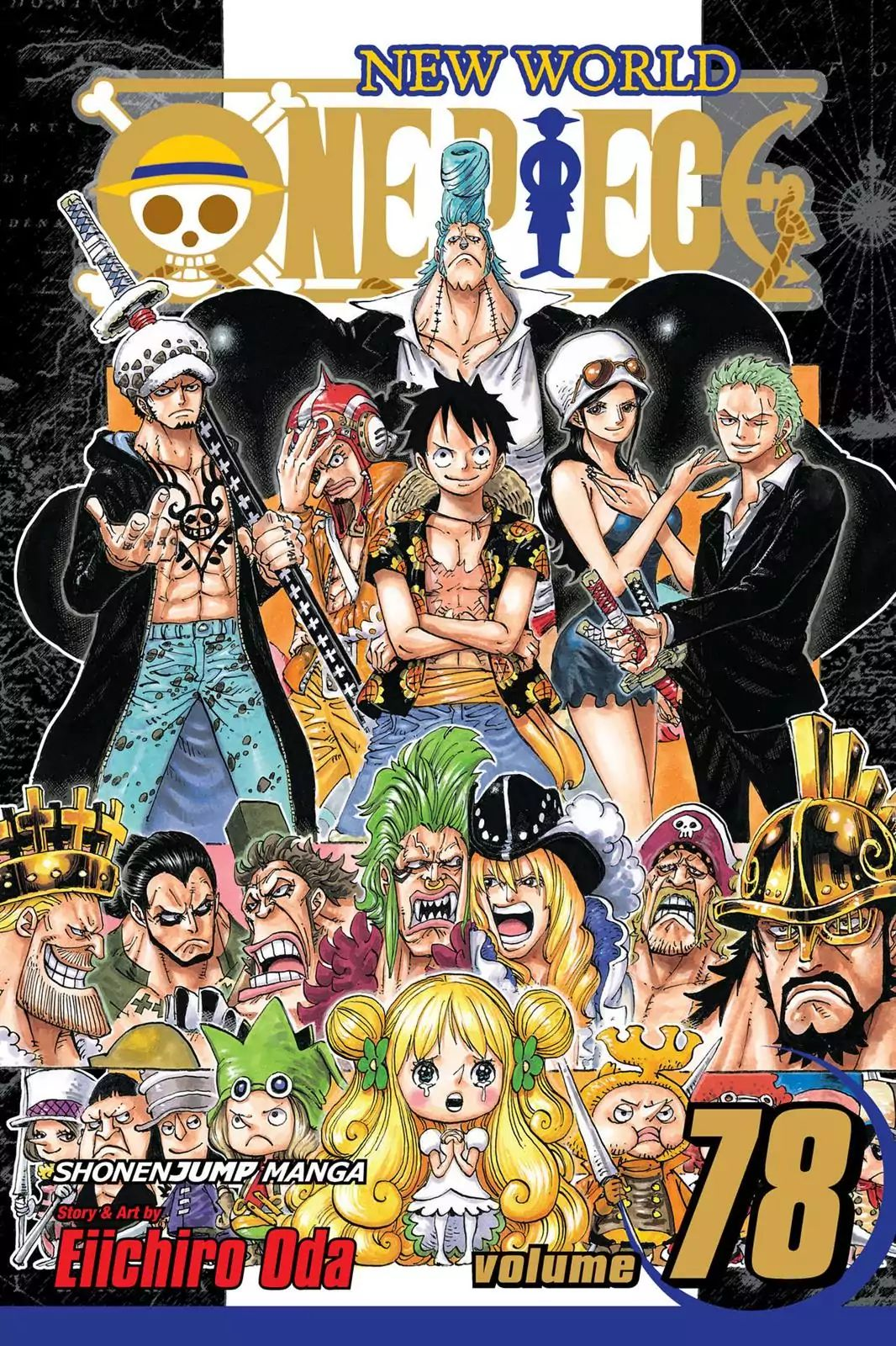 One Piece - chapter 776 - #1
