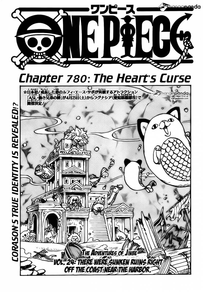 One Piece - chapter 780 - #1