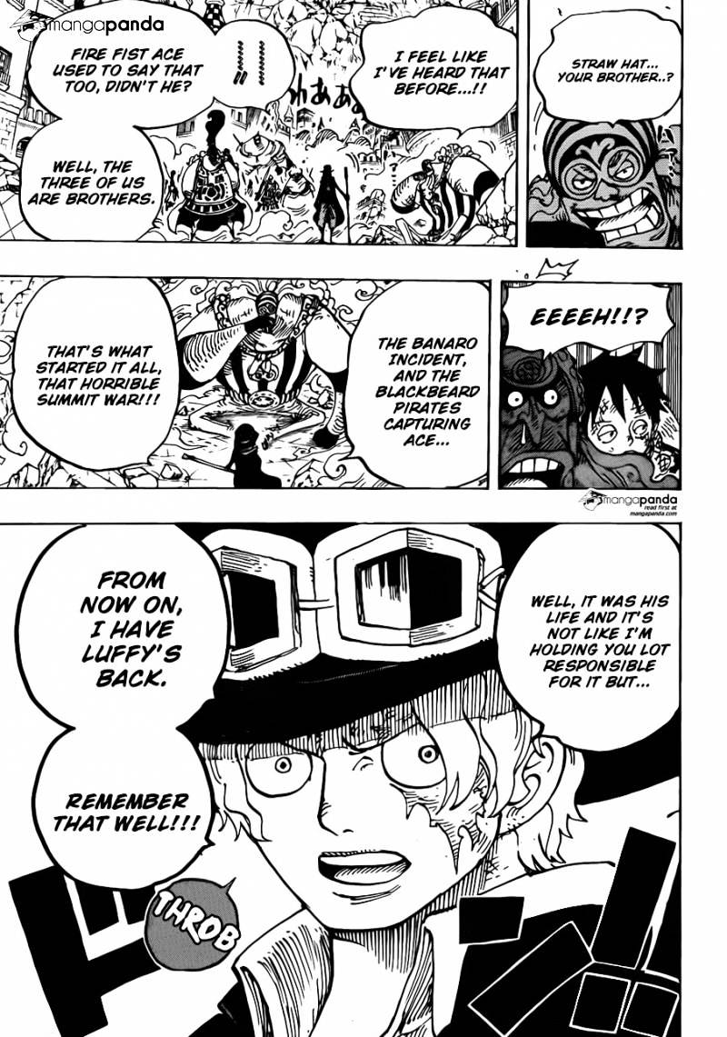One Piece - chapter 787 - #3