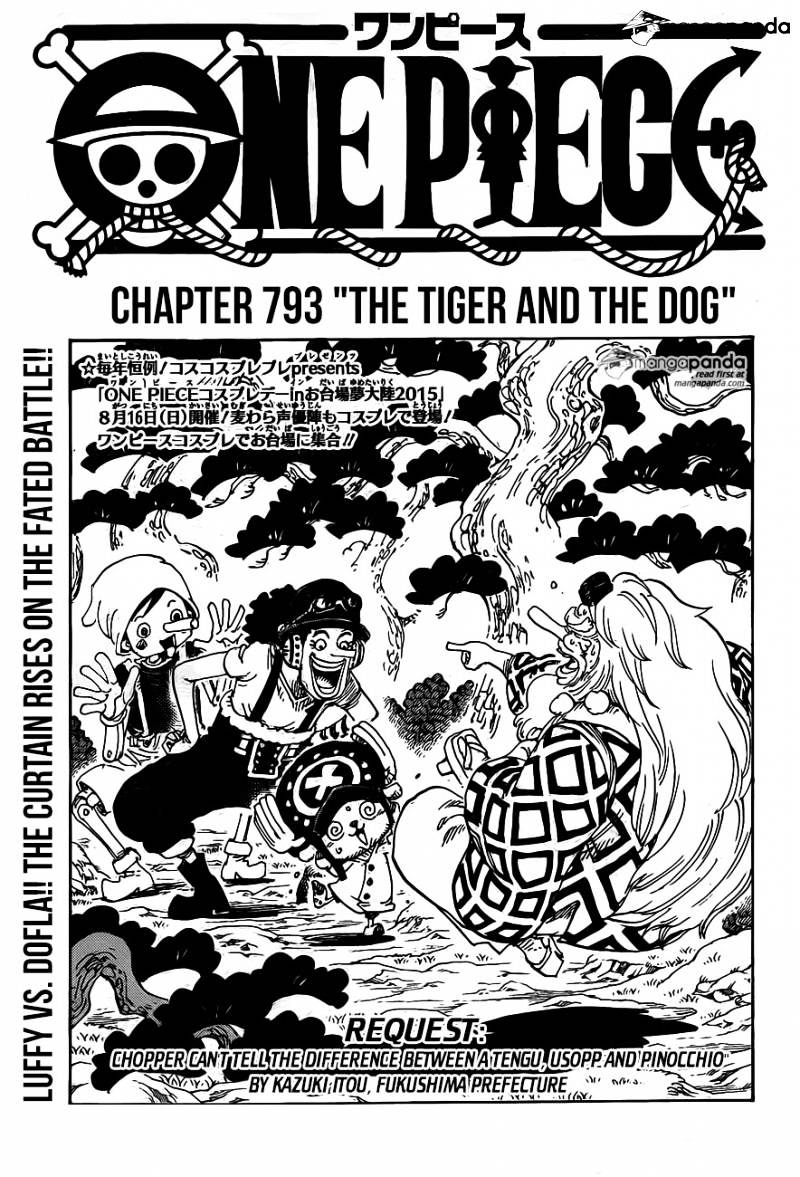 One Piece - chapter 793 - #1