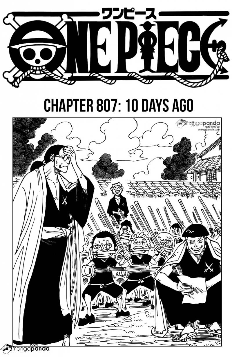One Piece - chapter 807 - #1