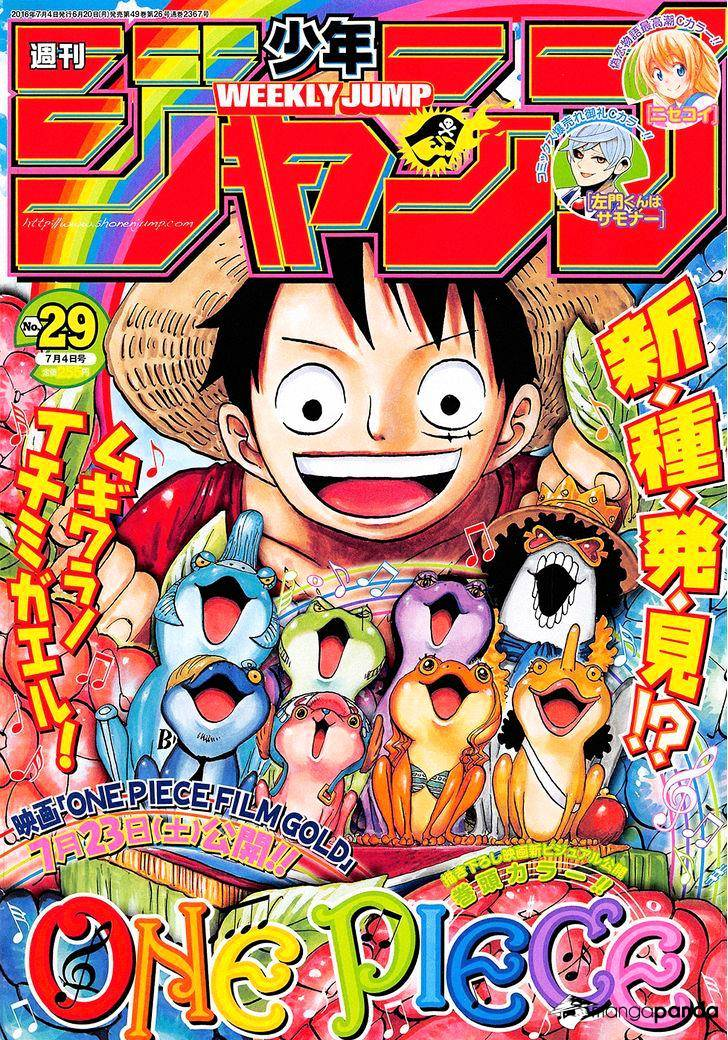 One Piece - chapter 829 - #1