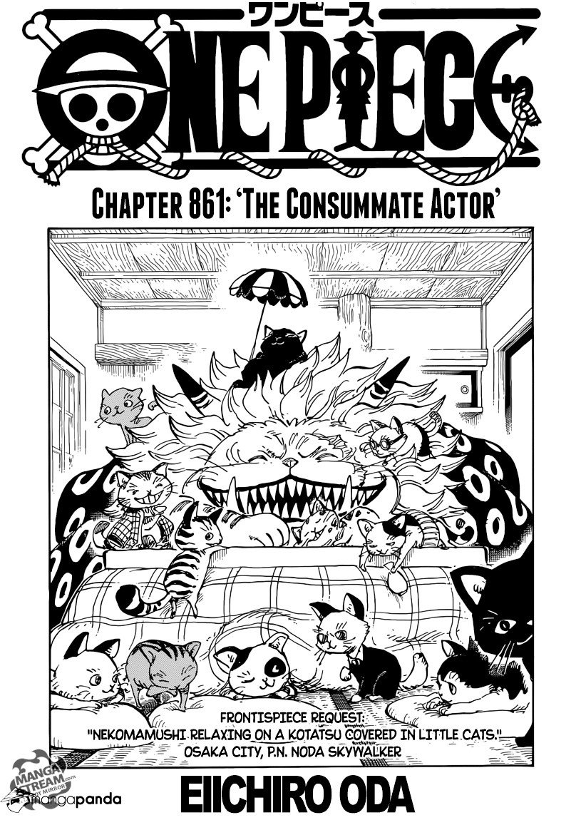 One Piece - chapter 861 - #1